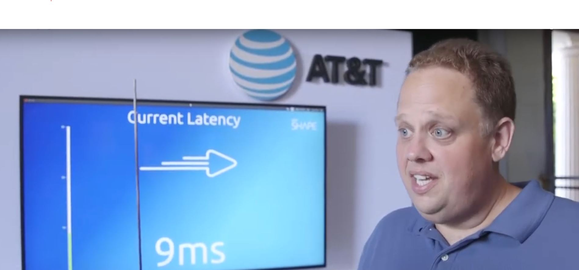 AT&T - 5G low latency demonstration