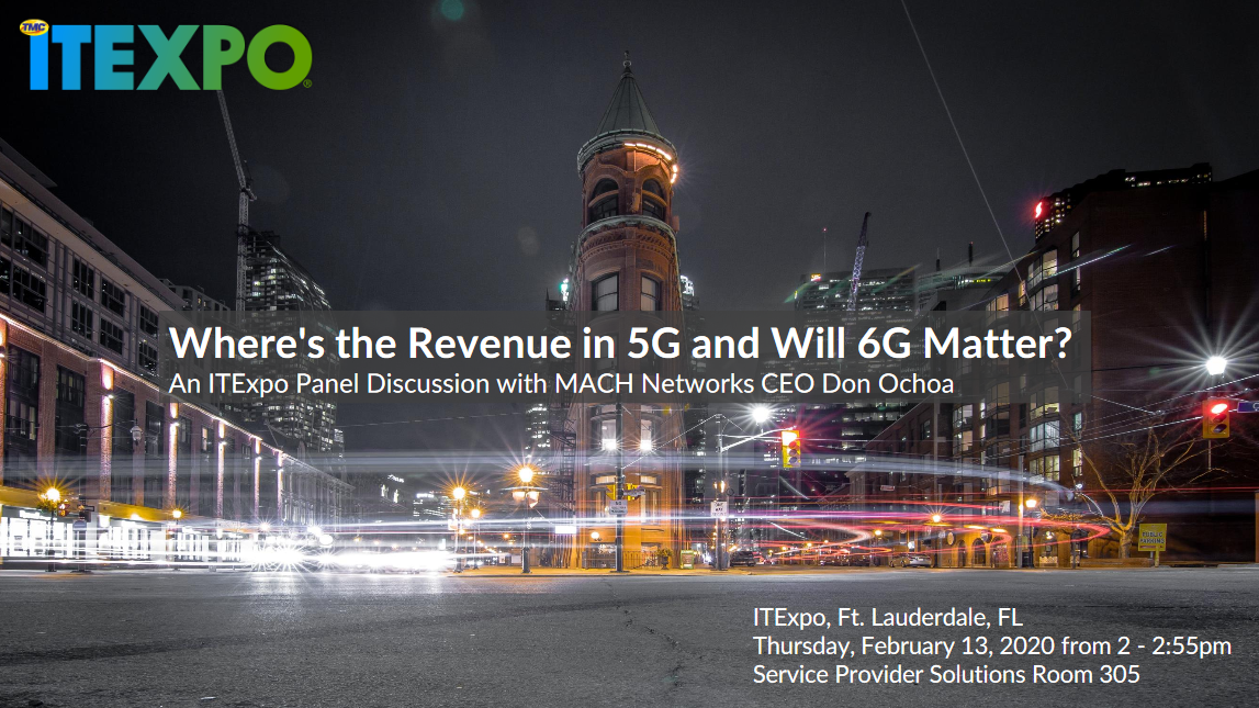 Where's The Revenue in 5G and Will 6G Matter?